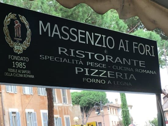 Massenzio Ai Fori